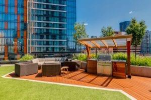 SODO amenities - BBQ terrace