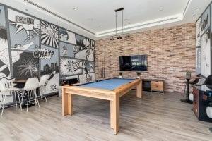 SODO amenities - billards