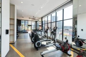 SODO amenities - fitness area