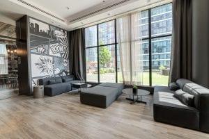 SODO amenities - game room